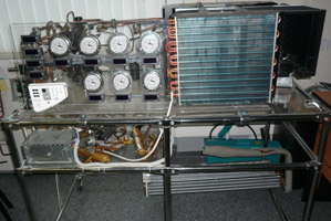 Стенды для изучения принципов работы холодильного контура и его возможных неисправностей