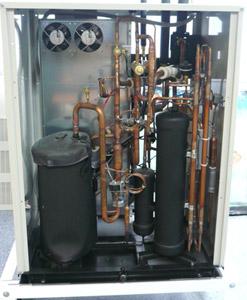 VRV-система DAIKIN c кожухотрубным конденсатором водяного охлаждения