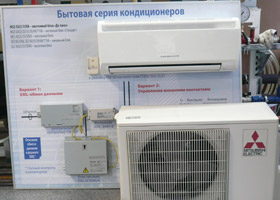 Сплит-ситема Mitsubishi Electric от фирмы