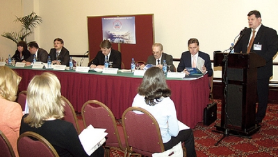 Презентация выставки «Мир Климата», Москва, 2004 год