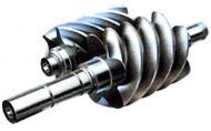 Роторы двухвинтового компрессора