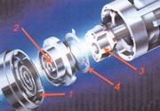 Основные элементы спирального компрессора